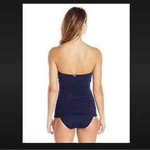 b8500425b75b2 Ivanka Trump Swim - $128 NWT Ivanka Trump navy blue ruched swimsuit